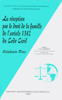 La réception par le droit de la famille de l'article 1382 du Code civil