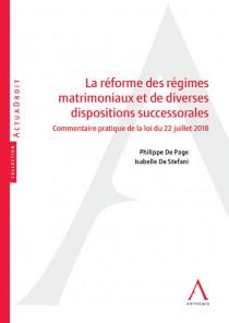 La réforme des régimes matrimoniaux et de diverses dispositions successorales