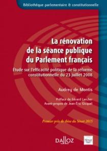 La rénovation de la séance publique du Parlement français