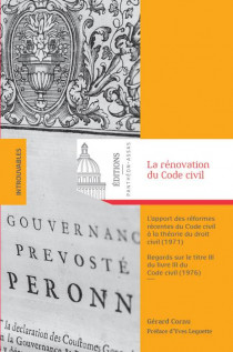 La rénovation du Code civil