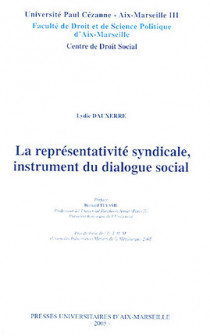 La représentativité syndicale, instrument du dialogue social