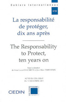 La responsabilité de protéger, 10 ans après - The Responsability to Protect, ten years on