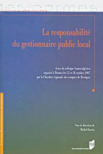 La responsabilité du gestionnaire public local