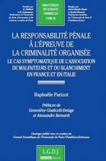 La responsabilité pénale à l'épreuve de la criminalité organisée