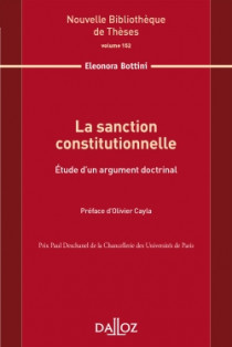 La sanction constitutionnelle