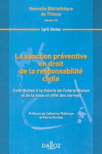 La sanction préventive en droit de la responsabilité civile