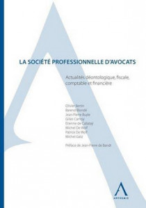 La société professionnelle d'avocats