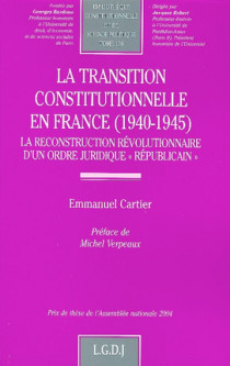 La transition constitutionnelle en France (1940-1945)