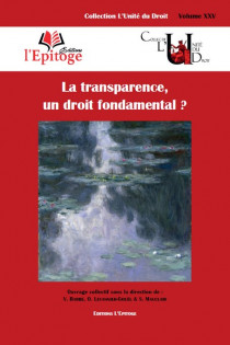 La transparence, un droit fondamental ?