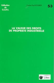 La valeur des droits de propriété industrielle