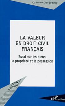 La valeur en droit civil français
