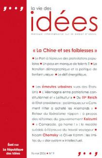 La vie des idées, février 2006 N°9