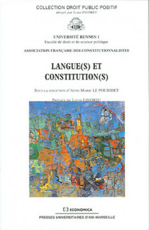 Langue(s) et constitution(s)