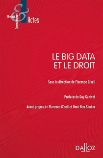 Le big data et le droit