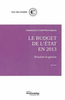 Le budget de l'Etat en 2013
