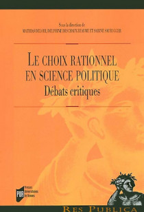 Le choix rationnel en science politique