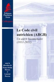 Le Code civil autrichien (ABGB)