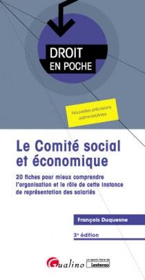 Le comité social et économique (CSE)