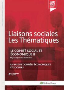 Le comité social et économique II