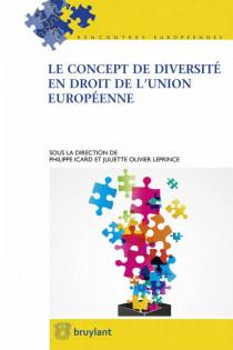 Le concept de diversité en droit de l'Union européenne