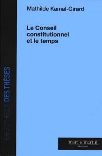 Le Conseil constitutionnel et le temps
