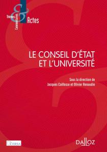 Le Conseil d'Etat et l'université