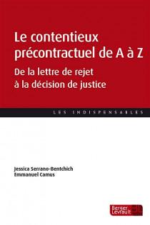Le contentieux précontractuel de A à Z