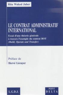 Le contrat administratif international