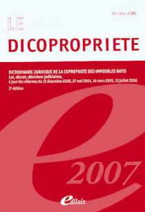 Le dicopropriété 2007