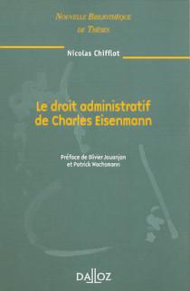 Le droit administratif de Charles Eisenmann