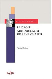 Le droit administratif de René Chapus