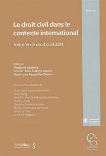Le droit civil dans le contexte international