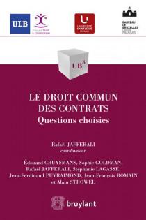 Le droit commun des contrats