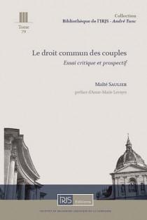 Le droit commun des couples