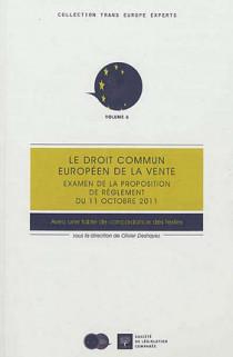 Le droit commun européen de la vente