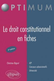 Le droit constitutionnel en fiches