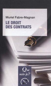 Le droit des contrats