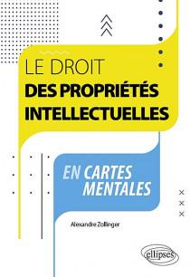 Le droit des propriétés intellectuelles en cartes mentales