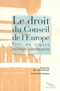 Le droit du Conseil de l'Europe