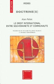 Le droit international entre souveraineté et communauté