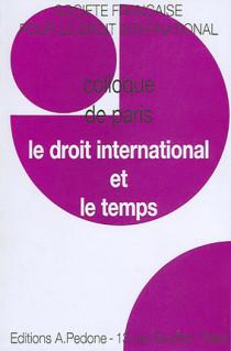 Le droit international et le temps