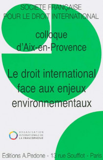 Le droit international face aux enjeux environnementaux