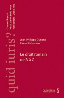 Le droit romain de A à Z