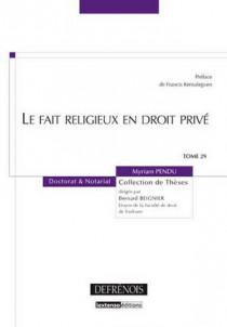 Le fait religieux en droit privé