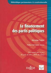 Le financement des partis politiques