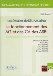 Le fonctionnement des AG et des CA des ASBL