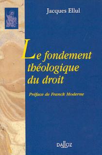 Le fondement théologique du droit