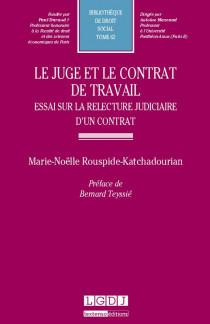 Le juge et le contrat de travail