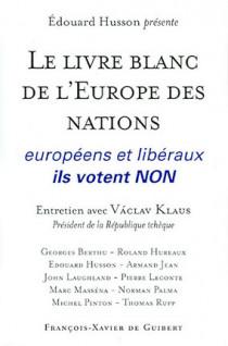 Le livre blanc de l'Europe des nations