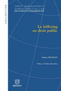 Le lobbying en droit public